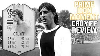 Fifa 19 95 Prime Icon Moments Johan Cruyff Review (With Gameplay)