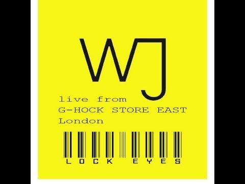 WJTv Live from G SHOCK STORE EAST London LOCK EYES