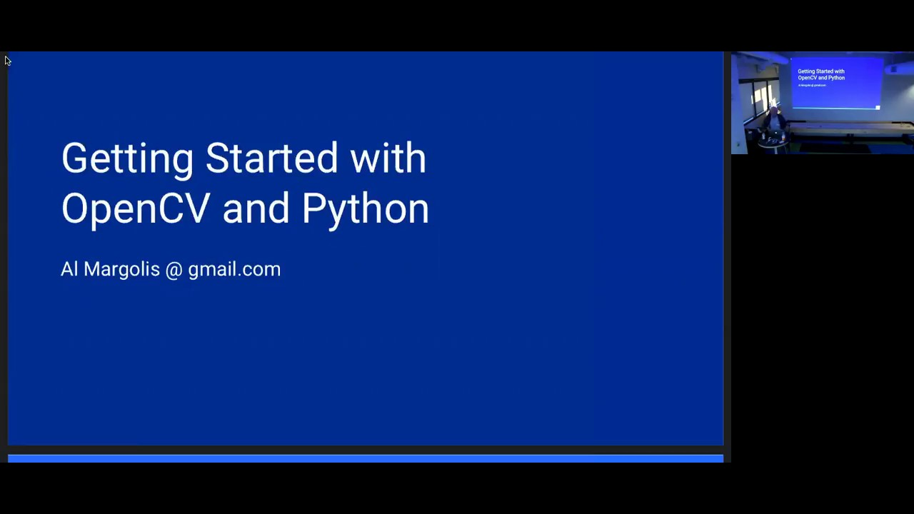 Image from Al Margolis - Getting Started with OpenCV (in 2018) - Pyninsula #15