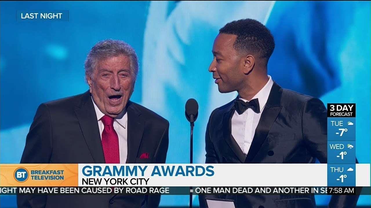 Tony Bennett and John Legend's GRAMMYs duet