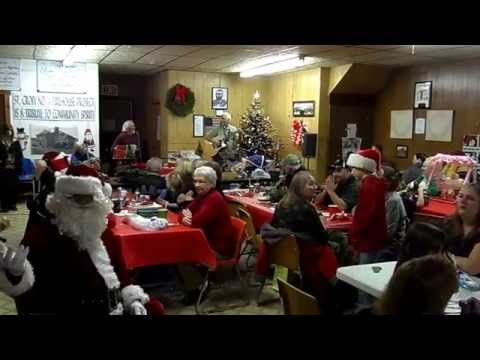 Christmas 2014 at the St. Croix No. 1 Fire Station, Calais, Maine