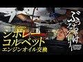 シボレー コルベット(C7)エンジンオイル交換 の動画、YouTube動画。