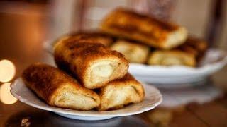 Crêpe Rolls with Meat - Krokiety z Miesem - Ania's Polish Food Recipe #25
