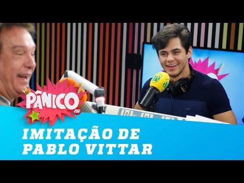 Demais! Lucas Veloso imita Pabllo Vittar
