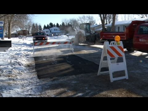 Brooklyn Park company develops asphalt mix for extreme cold