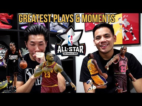 BEST PLAYS & GREATEST MOMENTS IN NBA ALL STAR GAME!