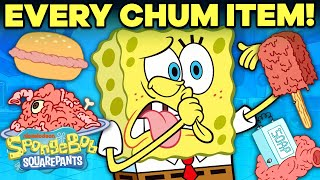 Every Item on the Chum Bucket Menu | SpongeBob