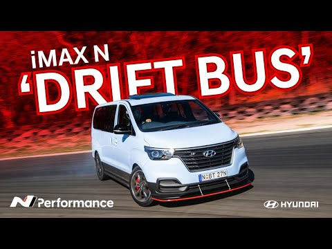 Hyundai's iMax N Drift Bus is a tire-shredding supervan for the rest of us