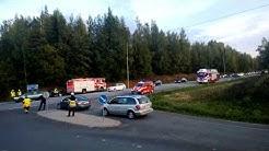 Liikenneonnettomuus 2-tiellä Vihdissä 17.09.13