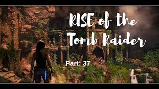 Lets play Rise of the Tomb Raider Teil 37: Parkour durch die Ruinen