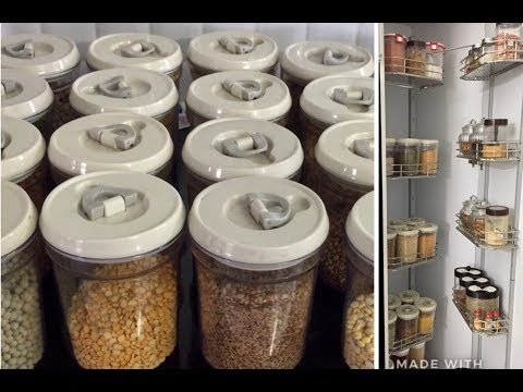 Pantry organising tips and ideas/kitchen designing and organising ideas/kitchen Tour part4
