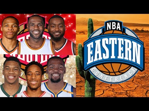 What if EVERY NBA Superstar went to the Western Conference?