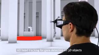 SMI introduces first 3D glasses with full eye tracking capability