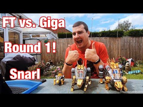 FT Vs. Giga - Round 1! Snarl.