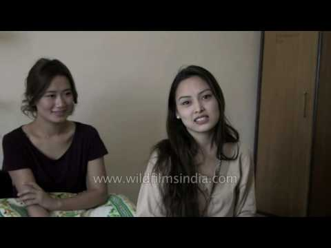 Miss Tibet contestants meet each other for the first time