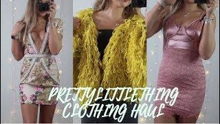 Zapętlaj SUMMER PRETTYLITTLETHING CLOTHING HAUL 2018 | TRY ON | ad | Jasmine Clough