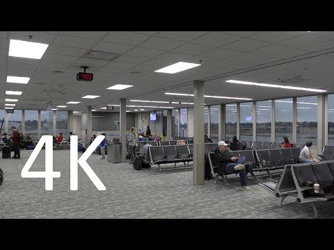 A 4K Tour Of Des Moines International Airport (DSM)