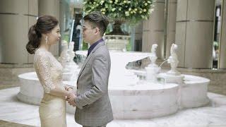 [婚禮錄影]用愛醞釀的誓言|一場簡單且感人的婚禮 Dennis&Kate @君悅