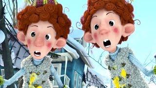 Мультик Снежная битва (3D) | Русский HD трейлер | Снежная битва 2015 - Канадский мультфильм