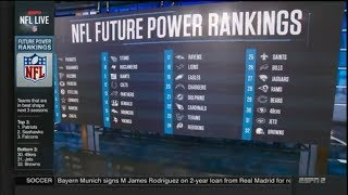 NFL FUTURE POWER RANKINGS!!! WHO