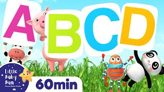 Learn ABC - The Alphabet Song | +More Nursery Rhymes & Kids Songs | ABCs and 123s | Little Baby Bum