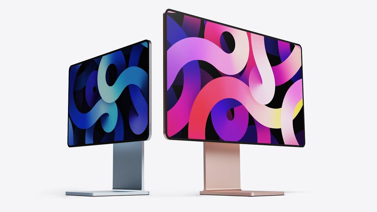 M1チップ搭載iMacのコンセプトデザインが公開〜2つのApple製品から着想 - iPhone Mania