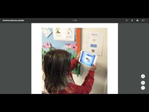 Seesaw   how to use the QR code key