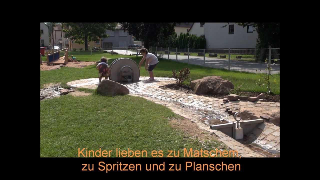 Wasserspielplatz Schöpfrad Youtube