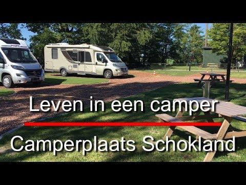 Leven in een camper 663, Camperplaats Schokland