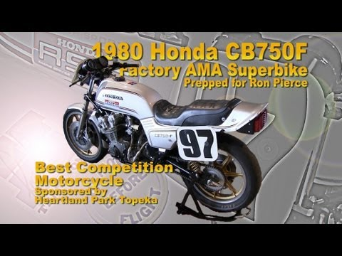 Clymer Manuals Honda CB750 Super Sport CB750F AMA Superbike Walk Around Video