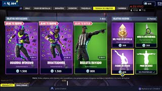 THE *NEW FORTNITE STORE* TODAY NOVEMBER 10 *NEW SKINS* *PICOS* AND *ALADELTAS* OF THE NFL
