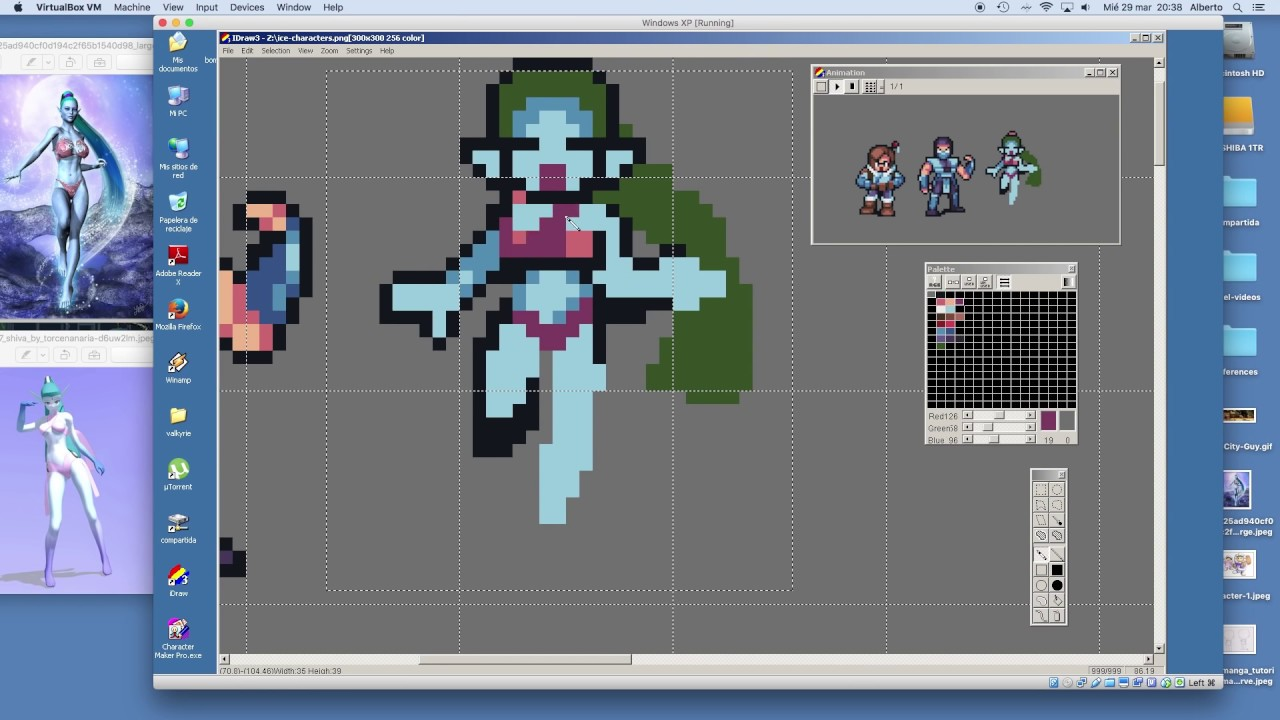 Character Design Pixel Art : How to pixel art characters for games icey