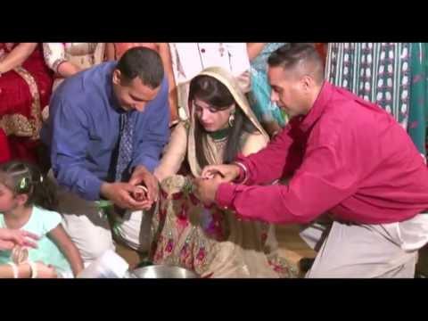 Lovepreet's Pre Wedding Ceremony Chura & Vatna @ Brampton Toronto July 6th 2013.