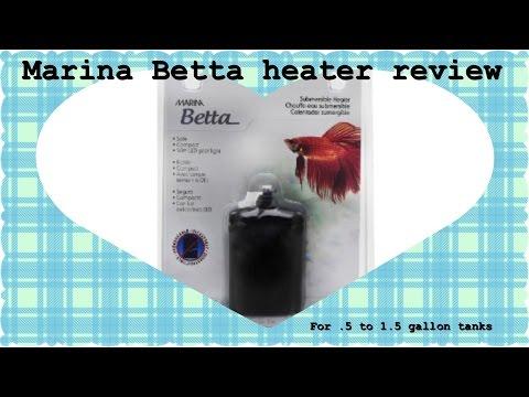 Marina Betta Heater Review .5 Gal-1.5 Gal