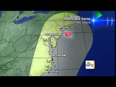 Tracking Hurricane Irene