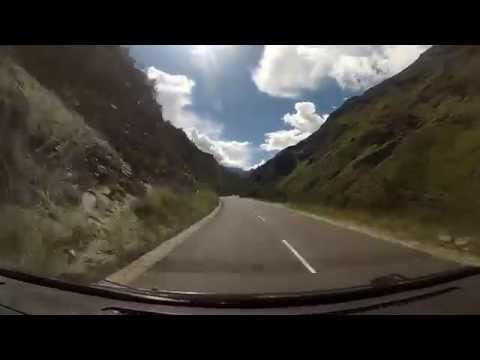 Bhutan - driving from Thimphu to Paro - Time Lapse