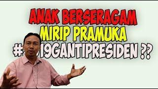 Download Video Apa Pendapatmu!! Anak2 seragam mirip Pramuka Teriakan 2019 Ganti Presiden MP3 3GP MP4
