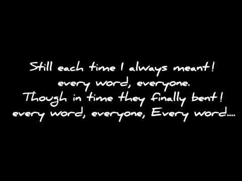 Endlessly She Said AFI lyrics