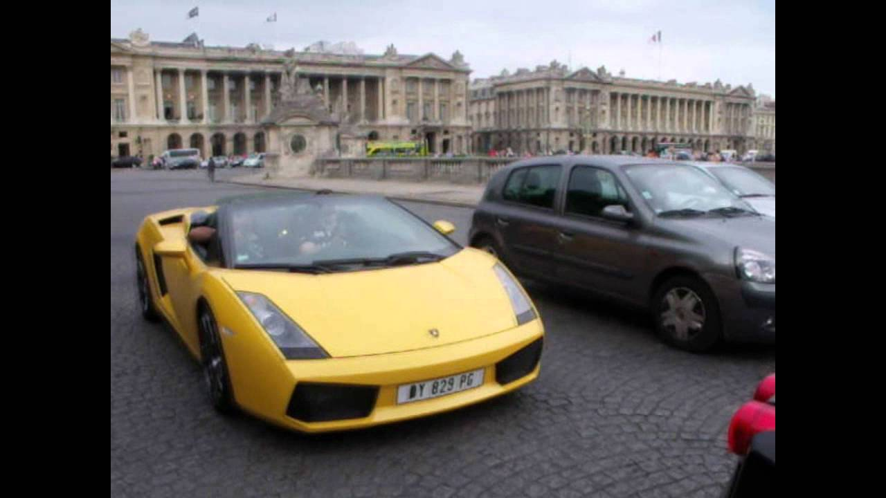 ferrari f430+2 gallardo lp 520 - youtube