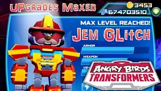 Let's Play Angry Birds Transformers - Gem Glitch (674,000,000) Upgrades Maxed thumbnail