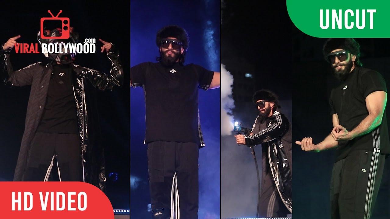 UNCUT - Crazy Ranveer Singh Launches