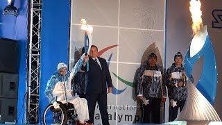 Encienden en Sochi la antorcha paralímpica