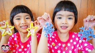หนูยิ้มหนูแย้ม | เกล็ดหิมะ DIY Kids Activity