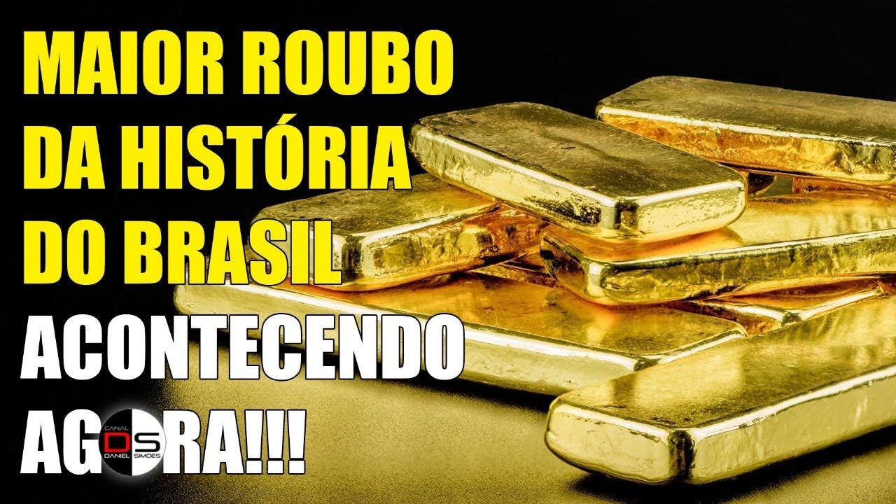 MAIOR ROUBO DA HISTÓRIA DO BRASIL está acontecendo agora!!