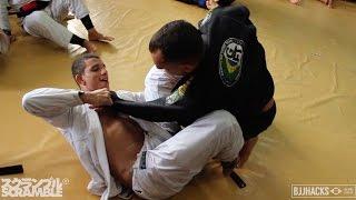 50yo Jiu-Jitsu Black Belt Trains with 20yo World Champion || In the Gym with BJJ Hacks