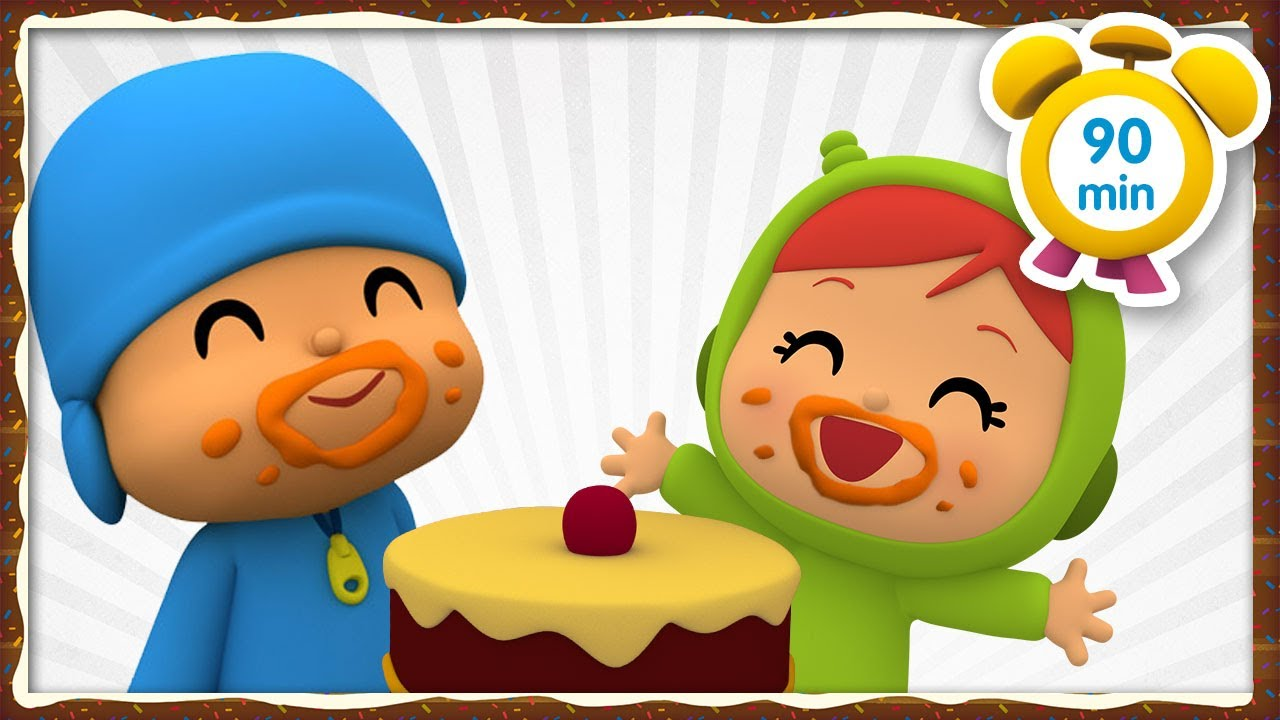 🍪🍎 POCOYO in ENGLISH - Healthy Snacks [90 min] Full Episodes  VIDEOS & CARTOONS for KIDS
