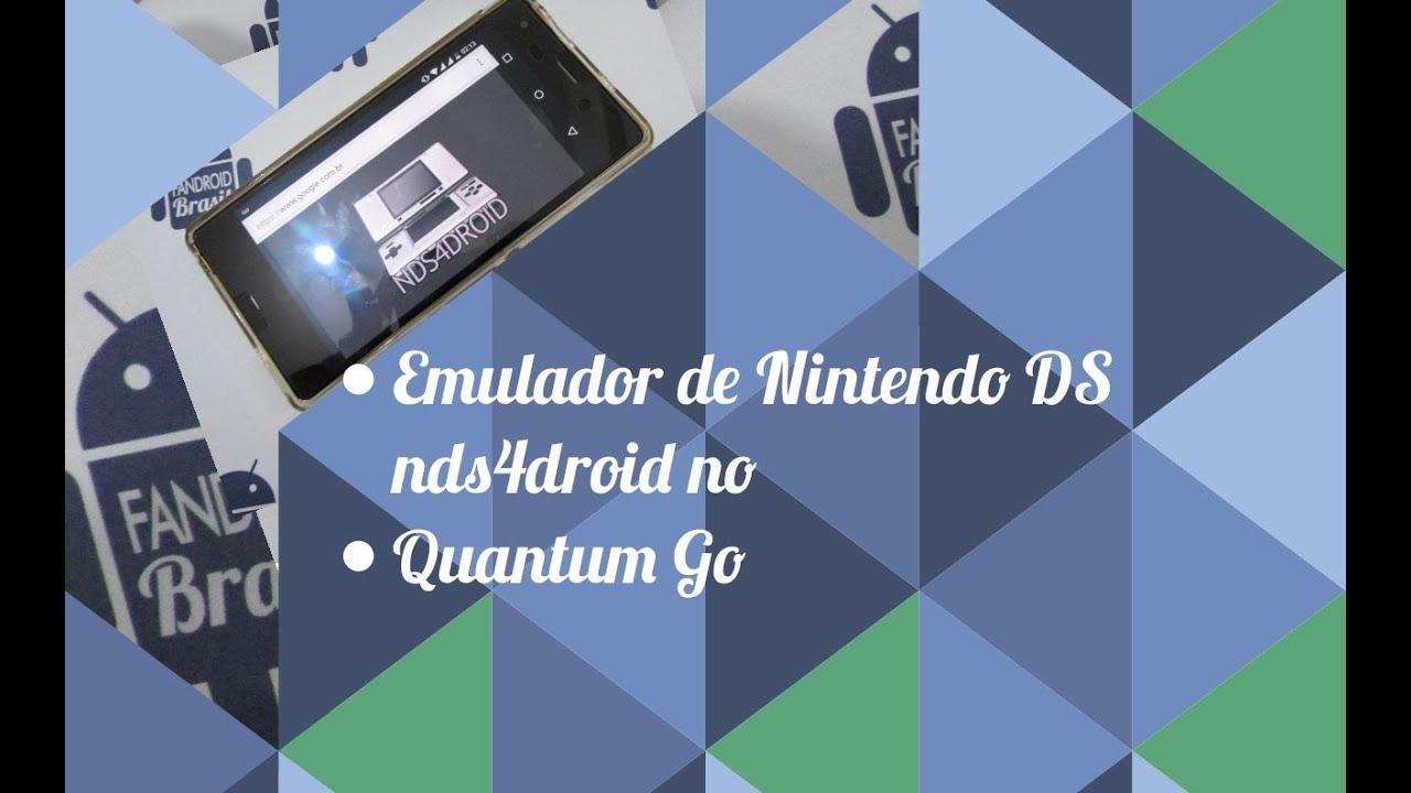 Emulador de Nintendo DS nds4droid no Quantum Go