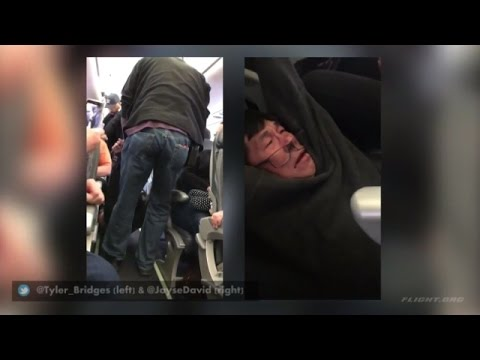 United Airlines Passenger Forcibly Removed On Overbooked Flight | REACTION