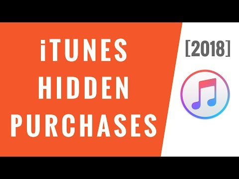 iTunes Hidden Purchases [2018] - YouTube