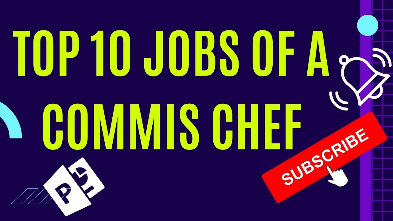 What AreThe Commis Chef Jobs - The Top 10 Commis Chef Jobs - YouTube